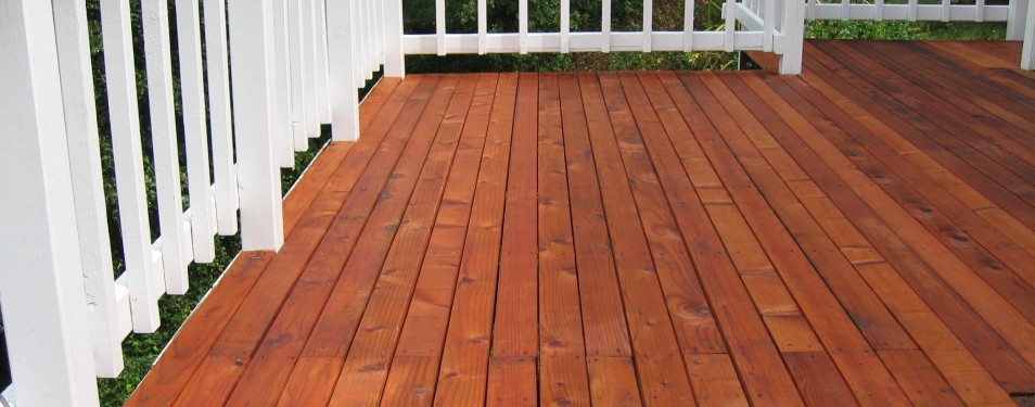 Deck Cleaning & Staining